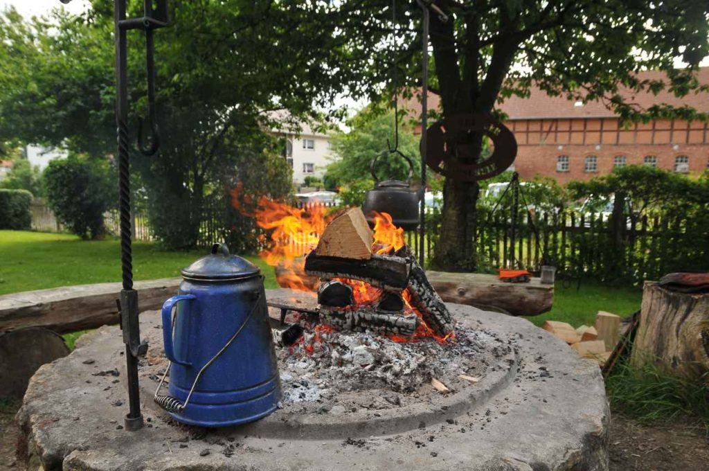 Lagerfeuer Teamevent